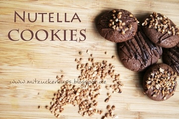 Rezept Nutella Cookies