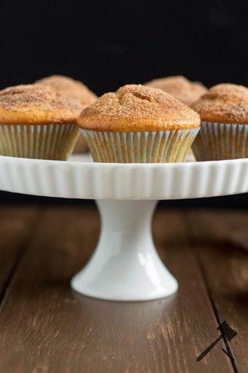 Rezept Nutella-filled Muffins mit Zimt-Zucker-Kruste