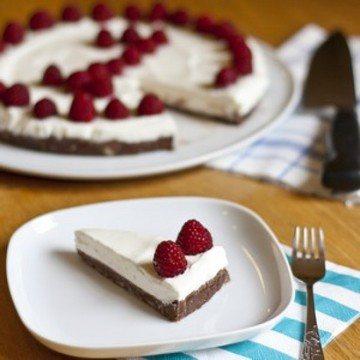 Rezept Nutella Kuchen mit Joghurt Sahne Creme