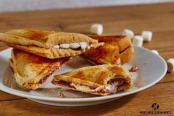 Rezept Nutella Sandwich mit Marshmallows