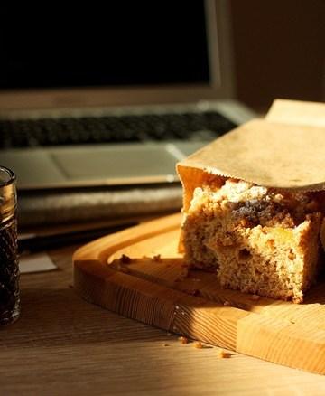 Rezept NY Apfelmuskuchen mit Streußeln