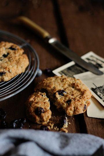 Rezept Oatmeal Cookies mit Cranberrys und Zimt