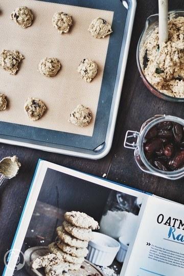 Rezept Oatmeal Date Cookies
