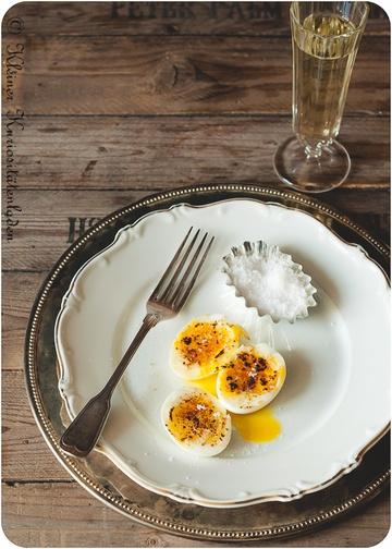Rezept Oeuf brûlée - brûlierte Eier