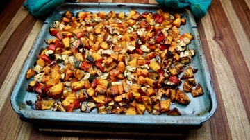 Rezept Ofen Kürbis-Gemüse