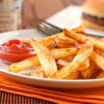 Rezept Ofen Pommes frites selbstgemacht