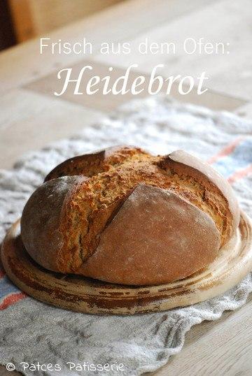 Rezept Ofenfrisches Heidebrot mit Dinkel und Roggen
