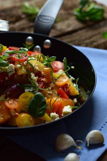 Rezept Ofengemüse mit  Feta