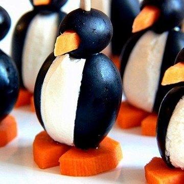 Rezept Oliven-Pinguine