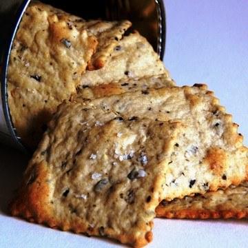 Rezept Oliven-Rosmarin-Cracker