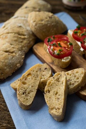 Rezept Oliven Tomaten Brot