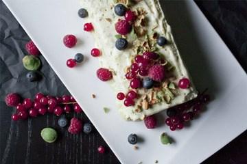 Rezept Olivenöl-Parfait mit Wasabi-Krokant