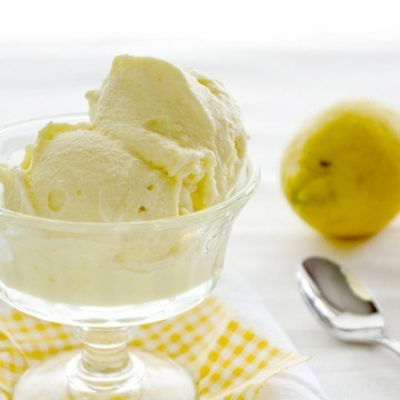 Rezept Olivenöl-Zitronen-Eis
