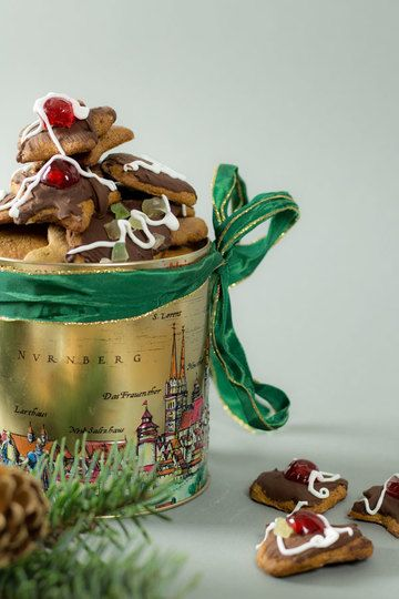 Rezept Omas Nürnberger Lebkuchen (Honiglebkuchen)