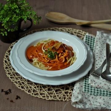 Rezept Omas Spaghetti und Tomatensoße