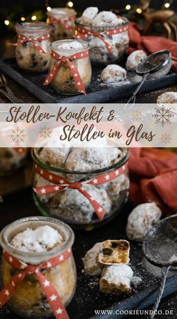 Rezept Oma's Stollenkonfekt & Stollen im Glas