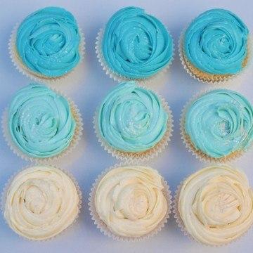 Rezept Ombré Cupcakes