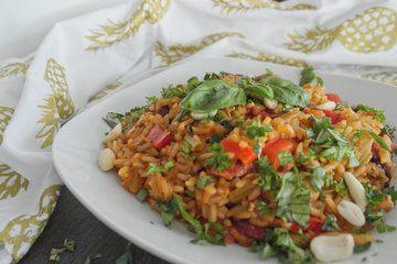 Rezept One-Pot Jambalaya mit Hühnchen und frischen Kräutern