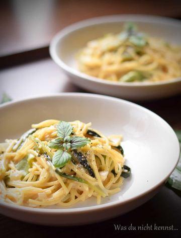 Rezept One Pot Pasta mit Bärlauch
