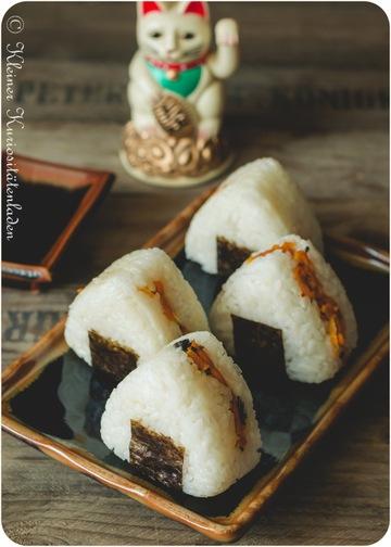Rezept Onigiri mit Karotten-Kinpira