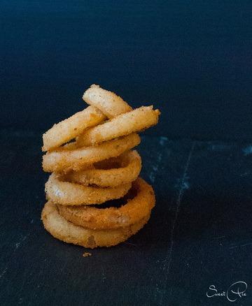 Rezept Onion Rings – frittierte Zwiebelringe
