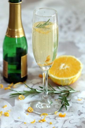 Rezept Orange Candy Champagne