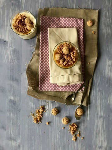 Rezept Orange – creamy, fruity, crunchy