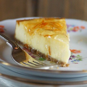 Rezept Orange-Vanille - Cheesecake