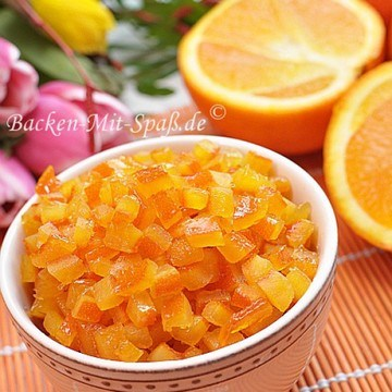 Rezept Orangeat / Zitronat
