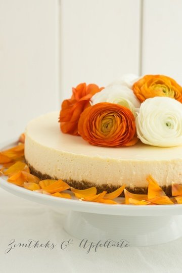 Rezept Orangen-Cheesecake