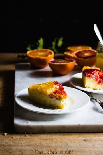 Rezept Orangen-Grieß-Kuchen