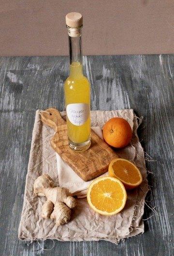 Rezept Orangen-Ingwersirup mit Gewürzen