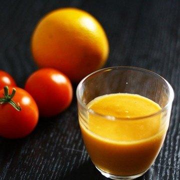 Rezept Orangen-Tomaten-Süppchen