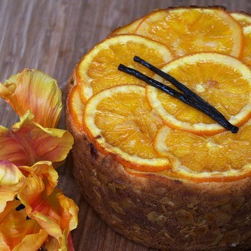 Rezept Orangen Upside-Down Kuchen
