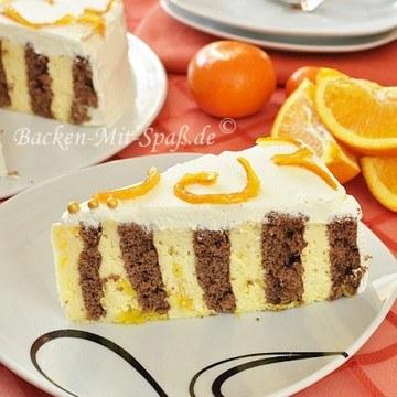 Rezept Orangen- Wickeltorte