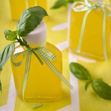 Rezept Orangen-Zitronen-Basilikum-Sirup