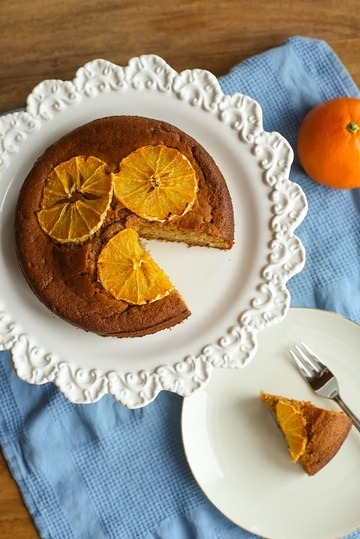 Rezept Orangenkuchen mit Kokosblütenzucker