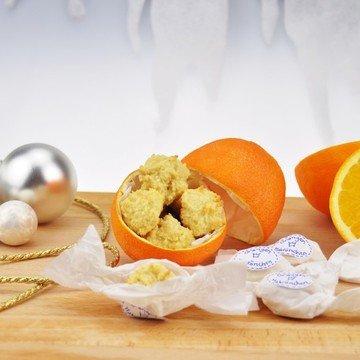 Rezept Orangenmakrönchen