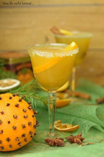 Rezept Orangenpunsch