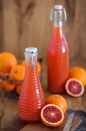 Rezept Orangensirup – selbstgemacht