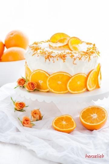 Rezept Orangentorte