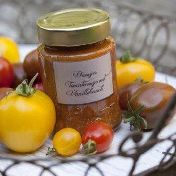 Rezept Oranges Tomatensugo mit Vanillehauch