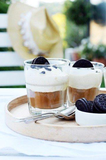 Rezept OREO-Affogato, die kleine schnelle Eiskaffee-Erfrischung