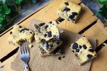 Rezept Oreo Blondies