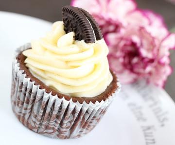 Rezept Oreo Choco Cheese Cupcakes