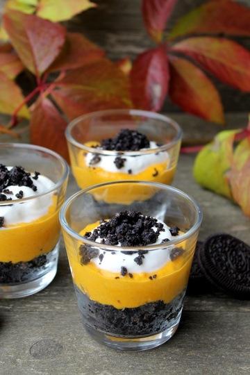 Rezept Oreo-Kürbis-Dessert