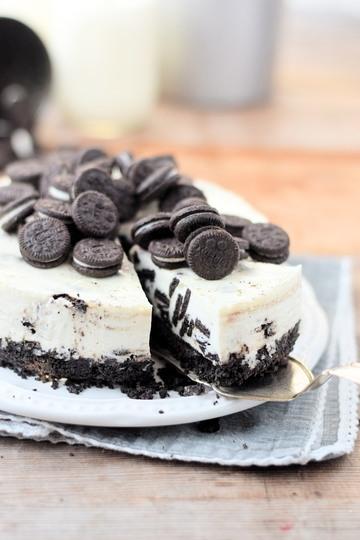 Rezept Oreo No Bake Cheesecake