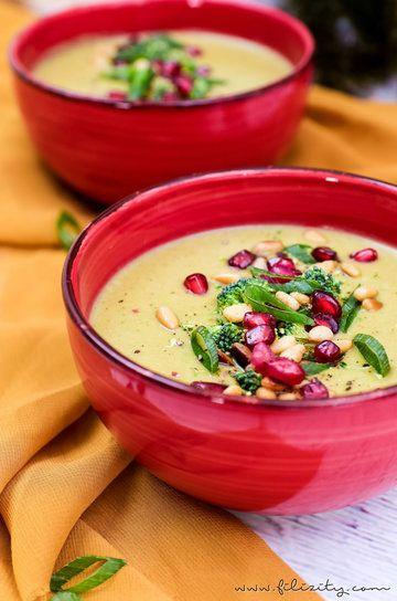 Rezept Orientalische Brokkoli-Suppe