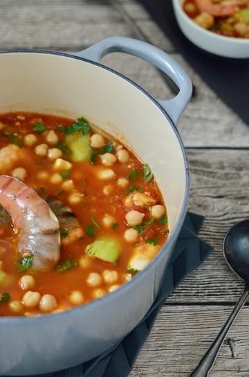 Rezept Orientalische Fischsuppe