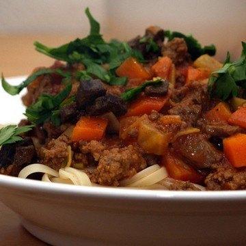 Rezept Orientalische Lamm-Bolognese